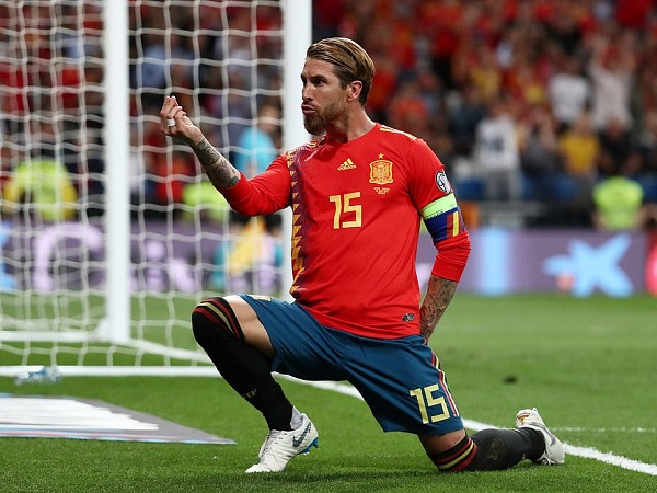 Ramos đang là linh hồn của đội bóng Tây Ban Nha