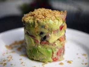 Photo: Vegan Avocado Salad from Za Restaurant
