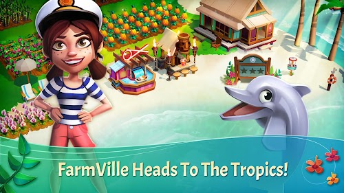 Screenshot 1 FarmVille 2: Tropic Escape 1.63.4600 APK MOD