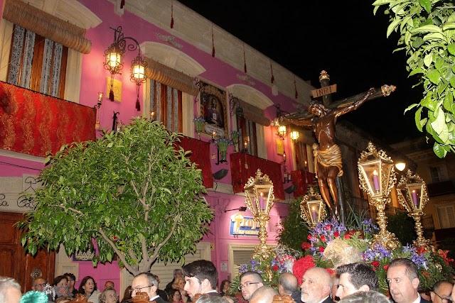 El Vía Crucis del Cristo de la Escucha habría realizado su Vía-Crucis la madrugada del Jueves al Viernes Santo.