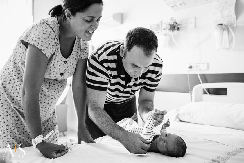 Newborn, primer día de vida