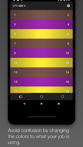 Screenshot for Phased: Circuit Colors in United States Play Store