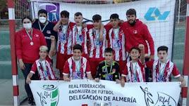 El Sporting Almería, campeón cadete.