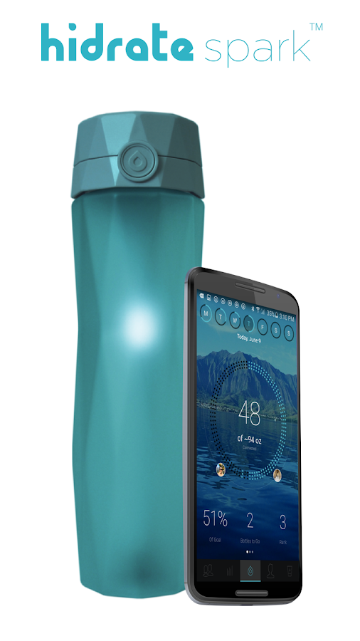 Hidrate Spark Water Bottle- screenshot