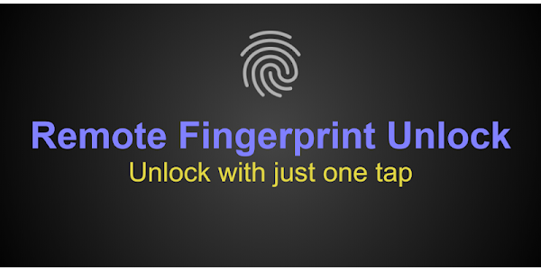 Remote Fingerprint Unlock - Apps on Google Play