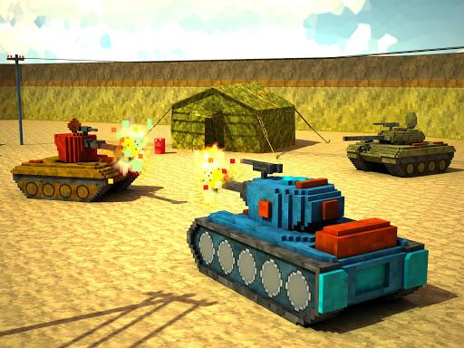 Toon Tank - Craft War Mania v1.0 APK (Mod)