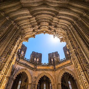 Mosteiro da Batalha by Joyce Chang - Buildings & Architecture Public & Historical ( uneso, unfinished, monastry, chapel, mosteiro da batalha, spain, batalha )
