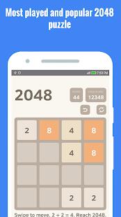 Puzzle 2048 plus - náhled