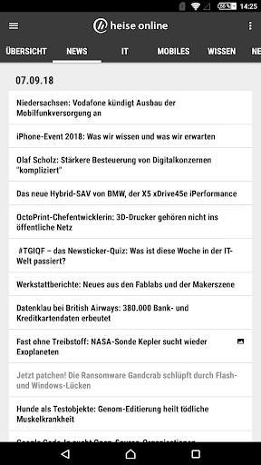 heise online - News 3.4.2 screenshots 19