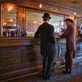 A Place To Socialize by Garry Dosa - Artistic Objects Still Life ( bar, old, saloon, vintage, cruise, indoors, people )