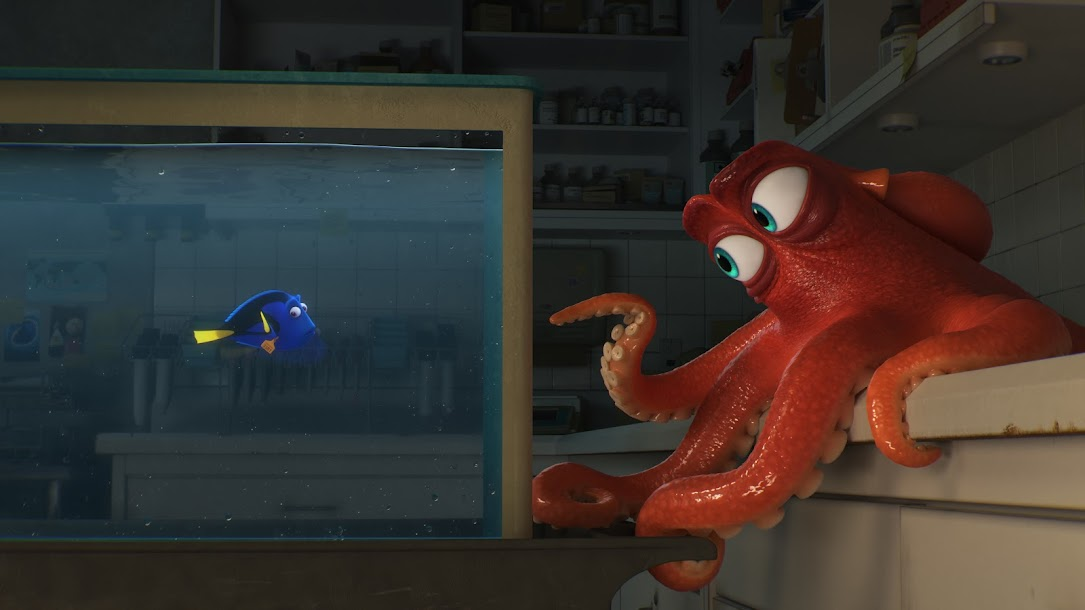Find Out Why I Love Hank the Octopus (er, Septopus) in my Finding Dory Review