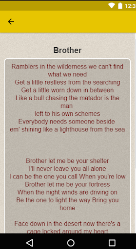 Needtobreathe Lyrics Apk Download Apkpureco