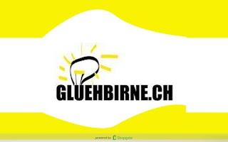 Screenshot of gluehbirne.ch