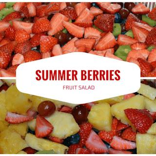 Summer Berries Fruit Salad