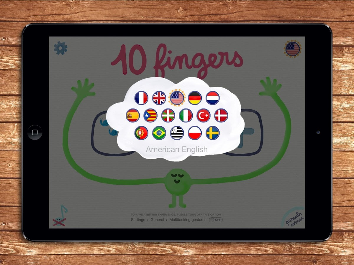 10 fingers for Smart Numbers- screenshot