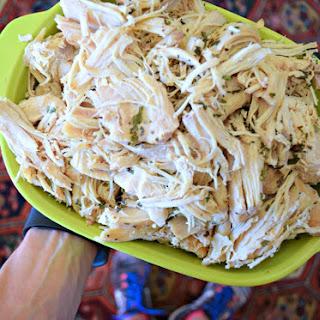 Honey Garlic Slow Cooker Shredded Chicken - Meal Prep Winner!.