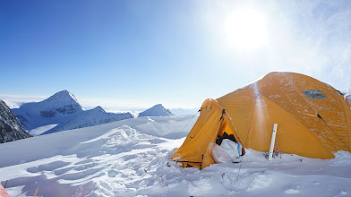 Photo: Perfect morning view at high camp 1