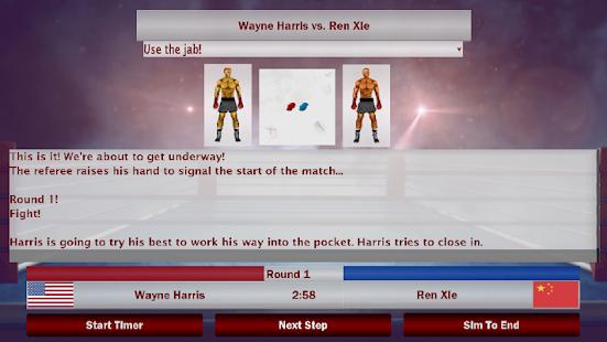 World Boxing Manager - náhled
