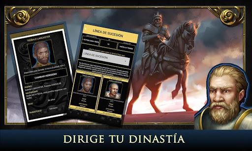 Age of Dynasties: juegos medievales, RPG español apk mod capturas de pantalla 1