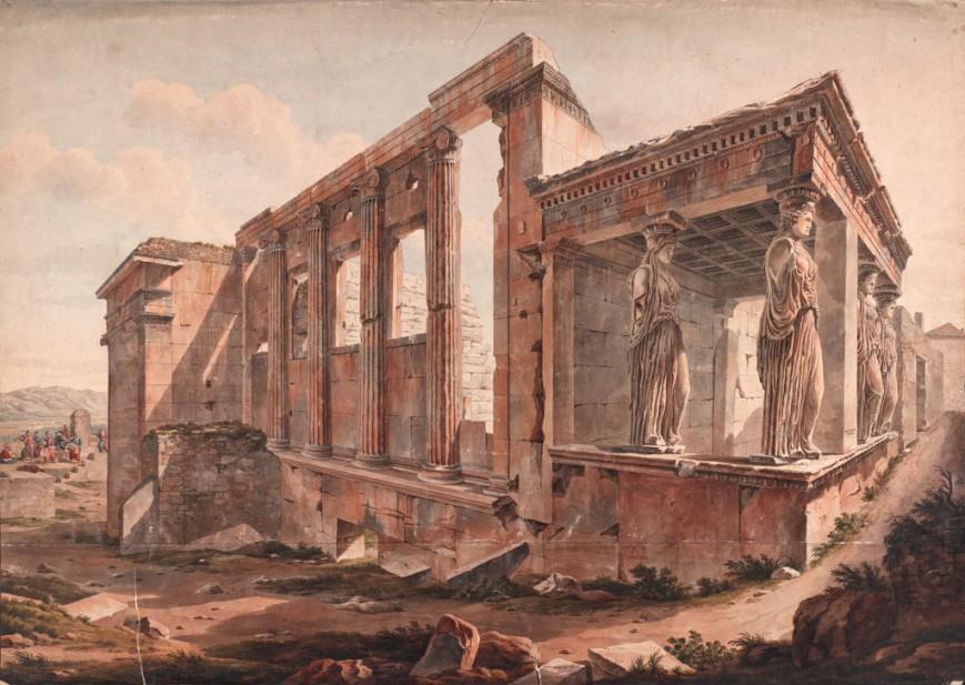 Ερέχθειο, Αθήνα, μετά το 1805 / The Packard Humanities Institute