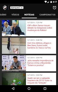 Vasco SporTV- screenshot thumbnail