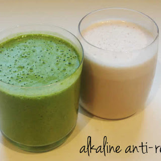 The Reflux-Relief Alkaline Soothing Smoothie!