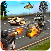 Highway Shooting Rivals 3D