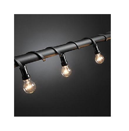 Ljusslinga med 10st klara glödlampor Grundsats