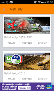 NetRally Results - screenshot thumbnail