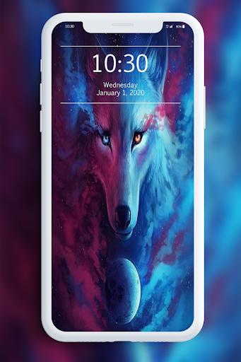 Galaxy Wild Wolf Wallpapers 1.0 screenshots 5