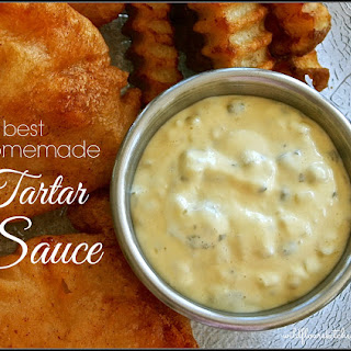 Best Homemade Tartar Sauce.