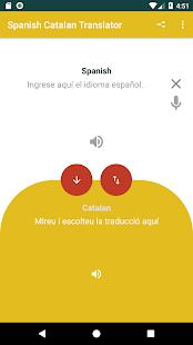 Download Traductor de Español a Catalán y viceversa. For PC Windows and Mac apk screenshot 1