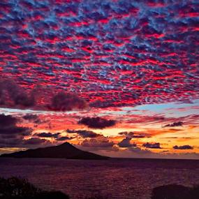 Dawn Lightshow by Angeline JoVan - Novices Only Landscapes ( dawn, petite martinique, color, sunrise, island,  )