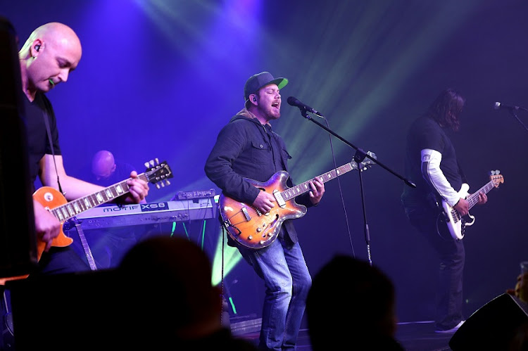 Prime Circle rocking The Venue. Picture: MARK ANDREWS/DAILY DISPATCH