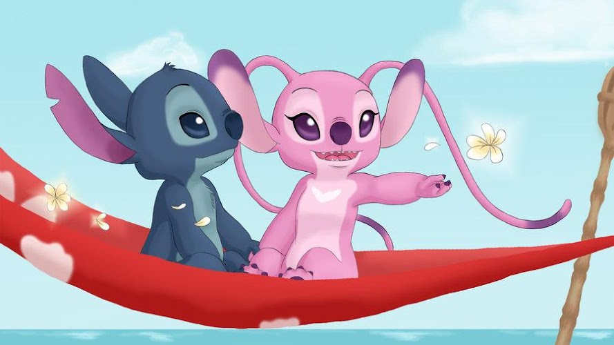 Lilo And Stitch Wallpaper Android App Screenshot