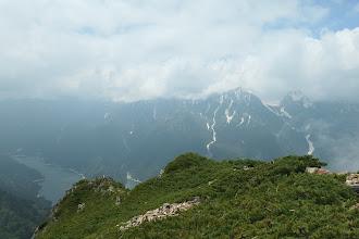 立山は雲の中