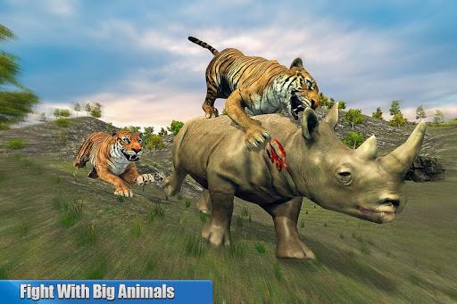 Tiger Family Simulator: Angry Tiger Games 1.0 screenshots 10