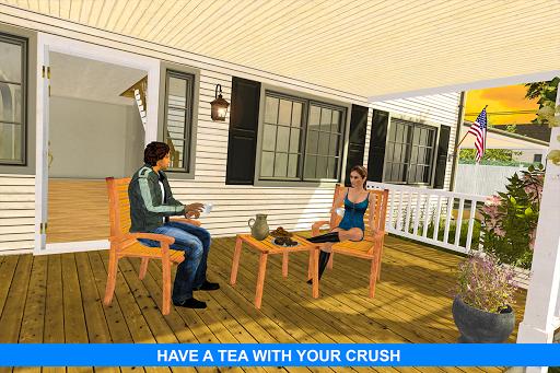 Virtual Girlfriend: Real Life love Story Sim apktram screenshots 5