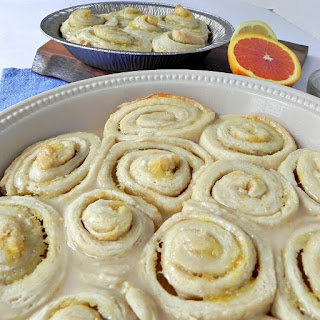 Homemade Citrus Sweet Rolls