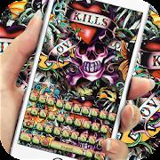 App Street graffiti skull keyboard APK for Windows Phone