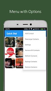 Quick Dial screenshot 2