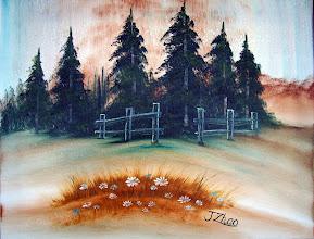 "Photo: 1103 Daisy Delight. Oil on Canvas. Frame: no. 16"" x 20"" $199.00"