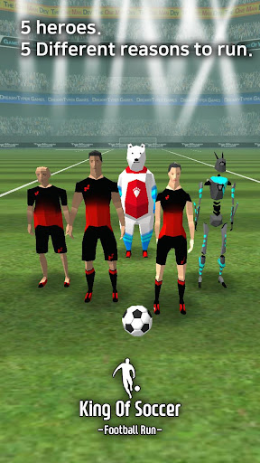 King Of Soccer : Football run 1.0.8.2 screenshots 5