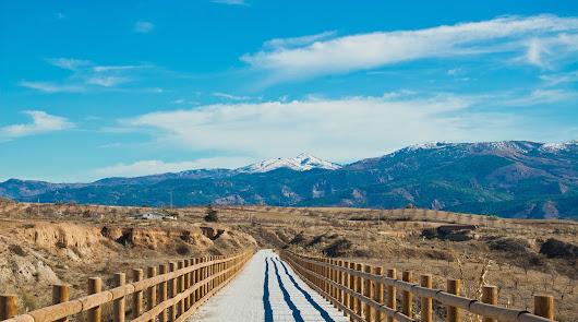 Una telaraña de caminos naturales para conectar pueblos con la Vía Verde