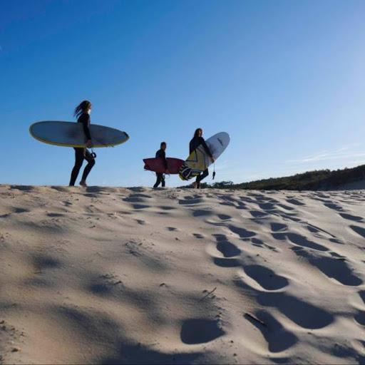 surf pour débutant en retraite yoga