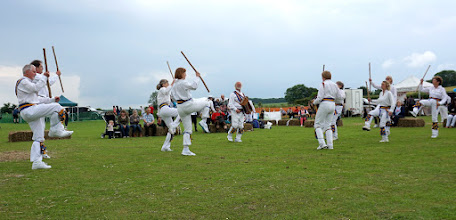 Photo: ' ONE MAN'S MORRIS ' WITH TWO SETS OF FOUR