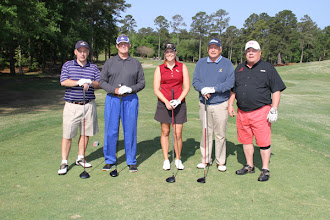 Photo: 4th Annual Varsity Club Golf Tournament at Golden Eagle.