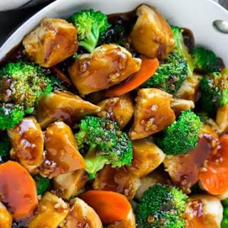 HONEY GARLIC CHICKEN STIR FRY Recipe