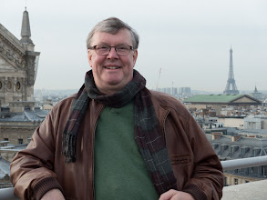 Photo: On the roof of Galeries Lafayetteb
