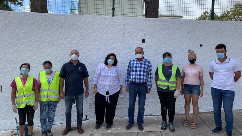 El PFEA gestionado por Diputación crea 700 jornales en el municipio de Felix.